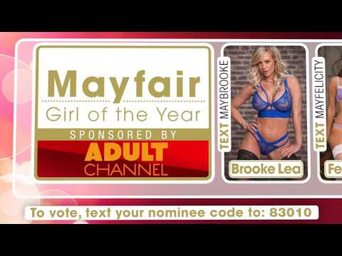 PRP Awards 2017 Mayfair Girl of the Year 2017 Nominees voting video