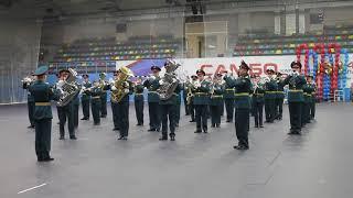 Смотр-конкурс военных оркестров в Хабаровске