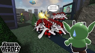 Tower Heroes (Fastest wąy to grind!)- Roblox OLD (Go for casual easy)
