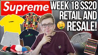 SUMMER TEES! RETAIL and RESALE Supreme Week 18 SS20! | MOTION LOGO IS BACK | MOST HYPED ITEMS?