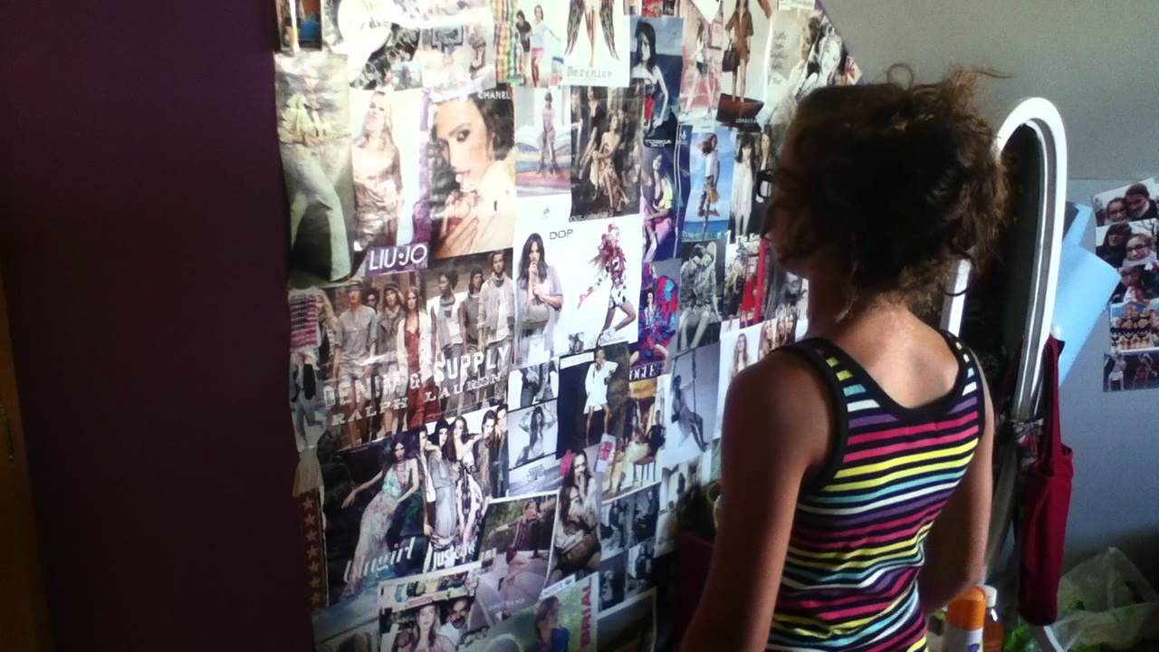 D corer une chambre chambre de fille youtube for Poster xxl chambre fille