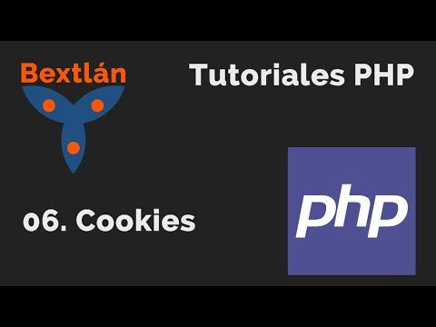 Tutoriales PHP: 6. Cookies