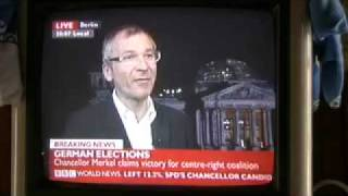 German Green MP Volker Beck on German Federal Election Results (interview)