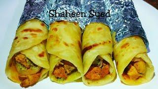 Easy Chicken Paratha Roll Recipe   Chicken Roll   Chicken Starter   Ramadan Recipes
