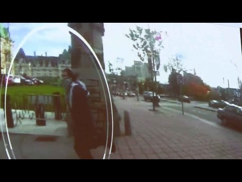 RCMP releases surveillance footage of gunman rushing Parliament Hill