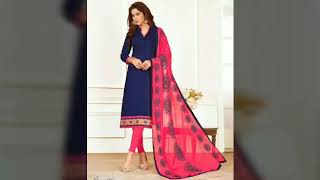 Designer unstiched suit for girl//COLLECTION OF BEAUTIFUL SUITS