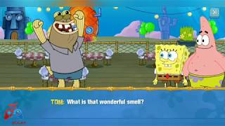 BELAJAR MEMASAK KRUSTY KRAB   SpongeBob: Krusty Cook-Off   Game Memasak #Day1