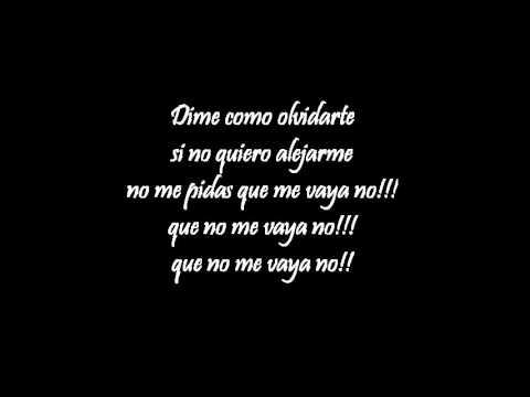 Pitbull ft. Rakim y Ken - Dime como olvidarte. (letra)