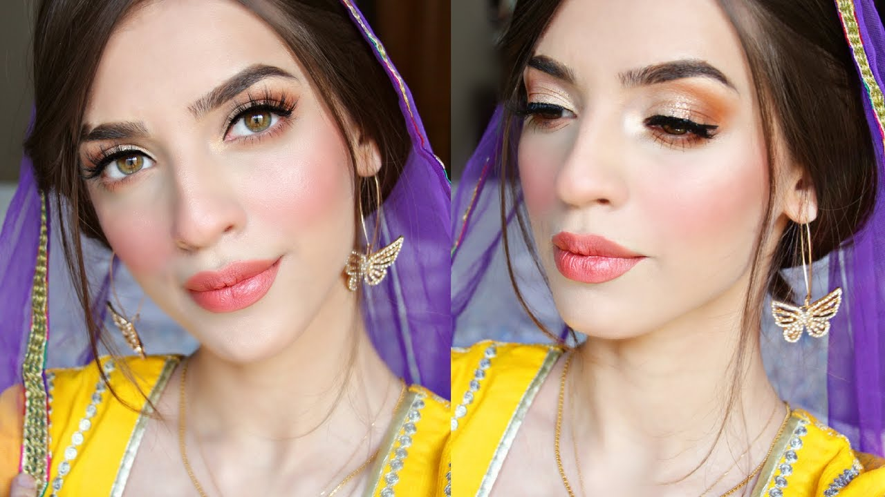 MEHNDI / MAYON EASY SIMPLE MAKEUP LOOK
