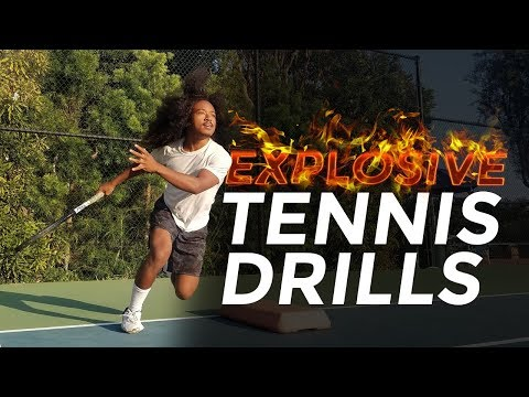 7 BEST Explosive Tennis Power Training Exercises You Should Be Doing (Increase Speed + Agility)