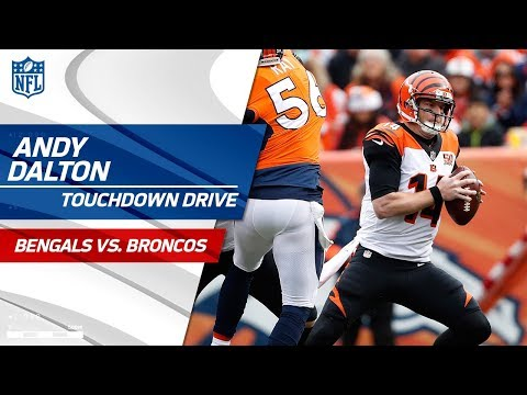 Cincinnati's Forced Fumble Leads to A.J. Green's Great TD Grab! | Bengals vs. Broncos | NFL Wk 11