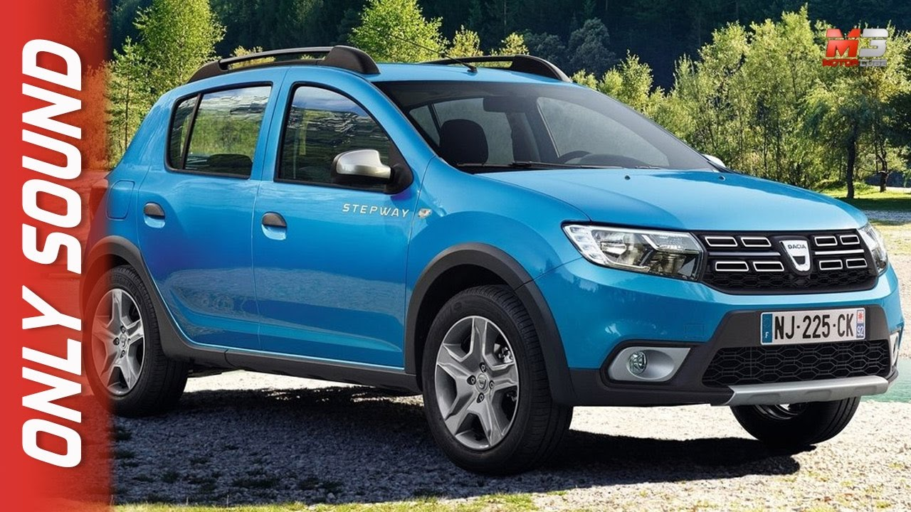 new dacia sandero stepway 2017 first test drive only sound youtube. Black Bedroom Furniture Sets. Home Design Ideas