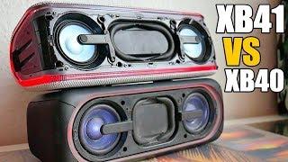 видео Обзор Sony SRS-XB40. Лучшая в своем классе