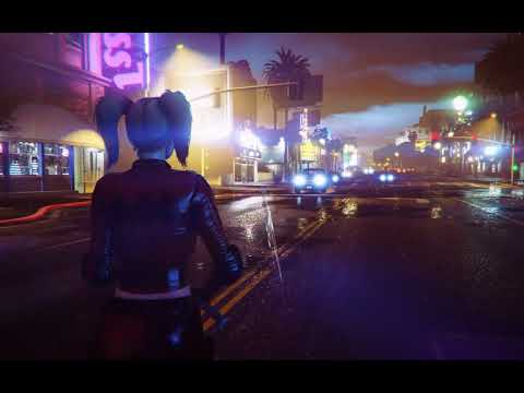 Grand Theft Auto V - Test 2 Harley Quinn (mod)