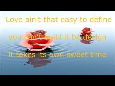 Love ain't like that lyrics Faith Hill