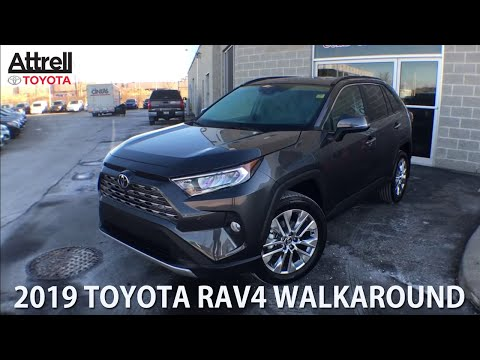 ALL NEW 2019 Toyota RAV4 AWD LIMITED Walkaround - Brampton ON - Attrell Toyota