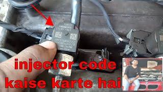 i20 black smoke injector Delphi fitting injector coding full video re-uploaded