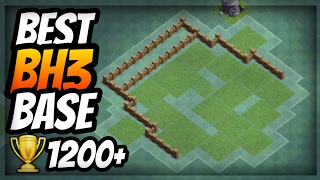 BEST BH3 BASE - ANTI 1 STAR 🏆 New Builder Hall 3 Anti Giant Base with Replays - Clash of Clans