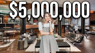 NYC Apartment Tour: $5.75 MILLION LUXURY LOFT