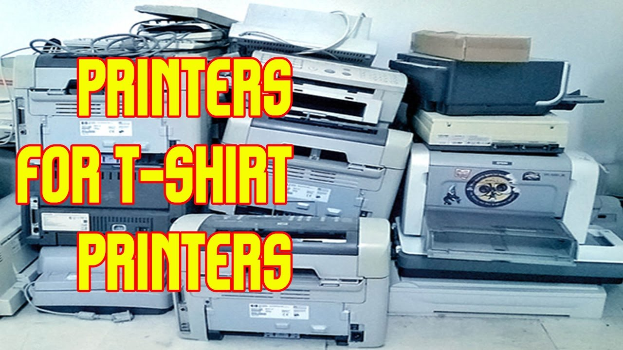 29aa7231 What Printers Do I Use For T-shirt Printing? TshirtChick Q & A - YouTube