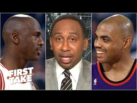 Stephen A. Breaks Down The MJ-Charles Barkley Rift | First Take