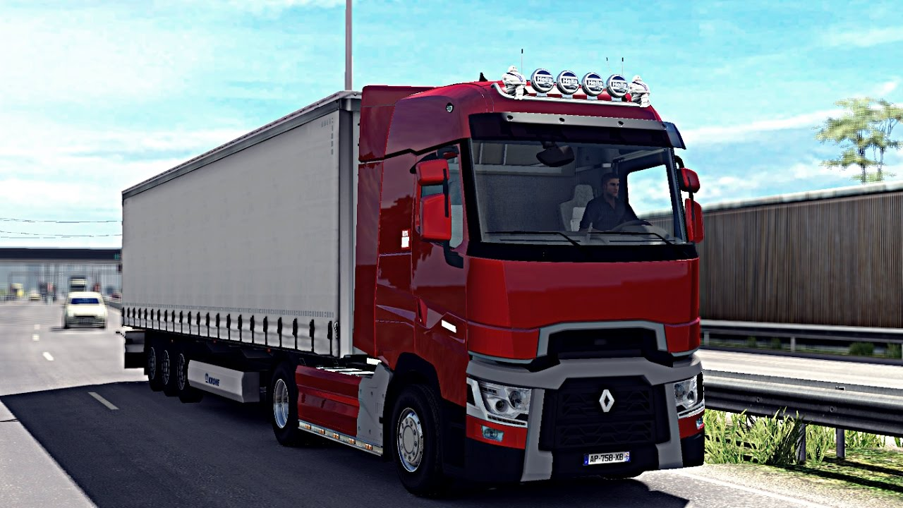 euro truck simulator 2 renault range t dijon limoges logitech g27 youtube. Black Bedroom Furniture Sets. Home Design Ideas