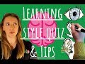 What Learning Style Are You? Quiz & Tips (2018)