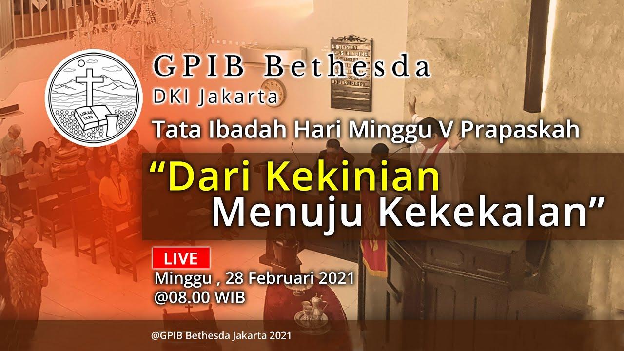 Ibadah Hari Minggu V Prapaskah (28 Februari 2021)