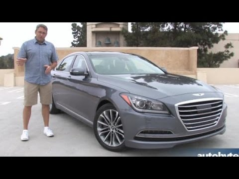 2015 Hyundai Genesis 3.8 Test Drive Video Review
