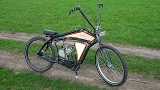 Board tracker (велосипед с мотором) часть 1(Привет, друзья! Начинаем серию видеороликов о том, как сделать велосипед с мотором своими руками. В начале..., 2016-05-05T14:30:03.000Z)