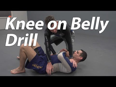 Knee on belly & reverse knee on belly drill by Budo Jake