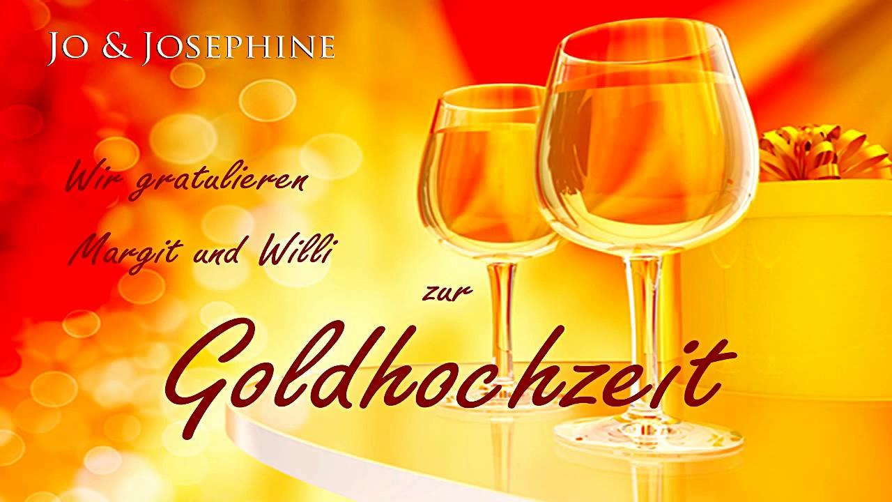 Personalisierte Glückwünsche Zur Goldenen Hochzeit Cd Zur Goldhochzeit