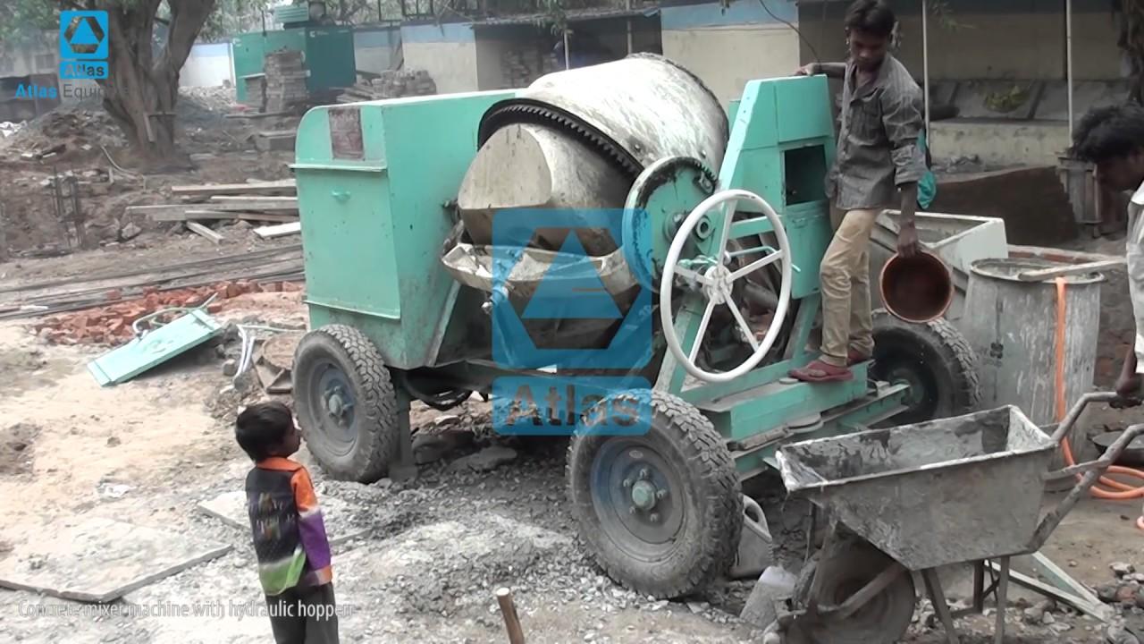 Concrete Mixer Supplier - Small Cement Mixer Exporter
