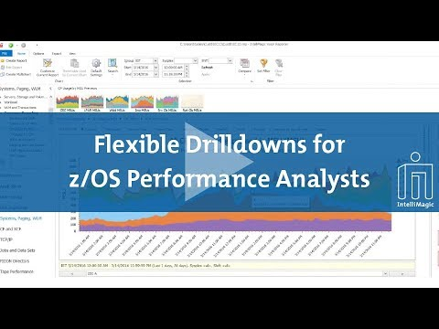 Flexible Drilldowns for z/OS Performance Analysts - CPU Reporting