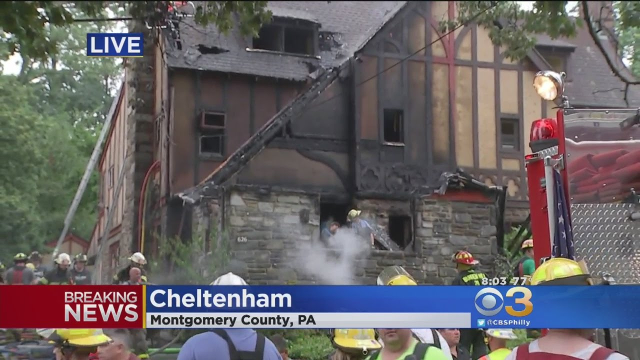 Elderly Couple Killed After Fire Rips Through Elkins Park Home