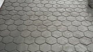 como fazer ferramenta para concreto com aparência de Bloquete