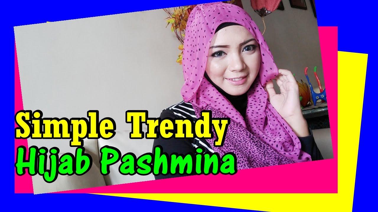 Tutorial Hijab Pashmina Sifon Simple Trendy By Revi 209 YouTube
