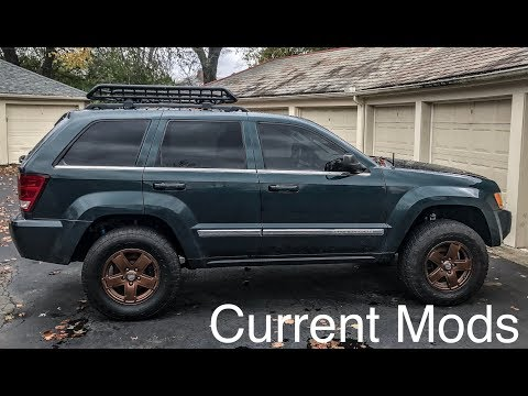 Current Mods: My Lifted Jeep Grand Cherokee WK 2005