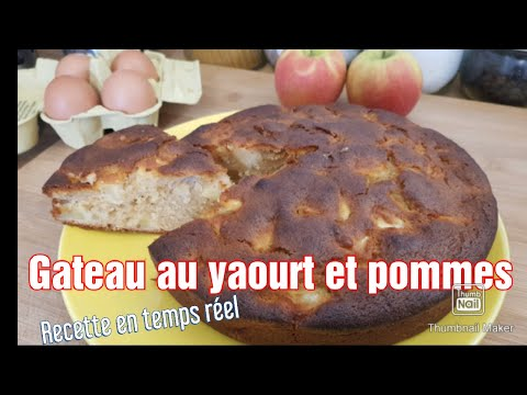 gâteau-au-yaourt-aux-pommes