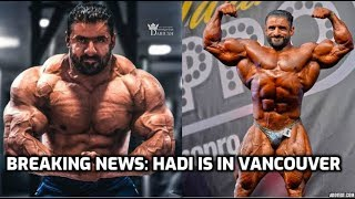 The Ronline Report: Breaking News | Hadi Choopan Is In Vancouver!