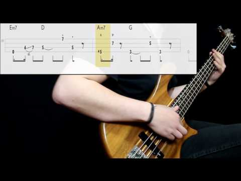 George Benson - Give Me The Night (Bass Only) (Play Along Tabs In Video)