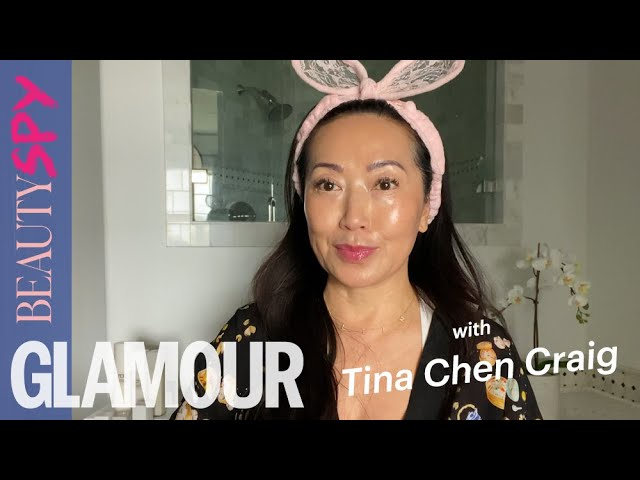 Tina Chen Craig Shows Us Her Skincare Routine & Go-To Products | GLAMOUR Beauty Spy
