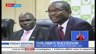 IEBC begins search for Chiloba\'s successor