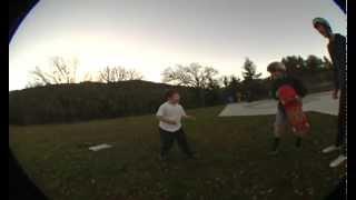 Kid tries to break camera