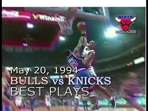 1994 Bulls vs Knicks game 6 highlights