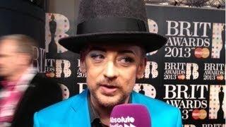 BRITs 2013: Boy George Interview