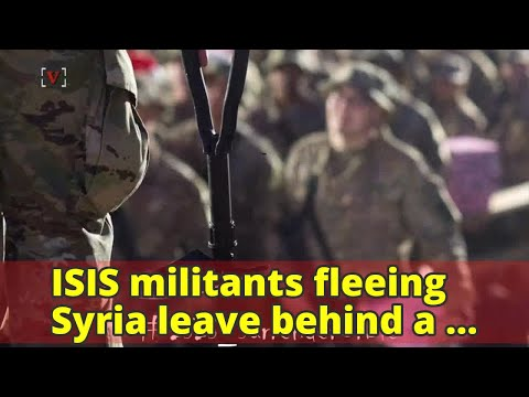 ISIS militants fleeing Syria leave behind a valuable trove of intelligence