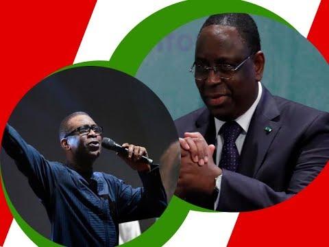 youssou ndour crée une chanson en l'honneur de macky sall et fait danser marieme Faye sall