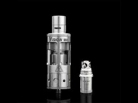Vision MK Sub Ohm Tank Review - Vaping from 30-100 watts (coil parameters) - 11 July 2016