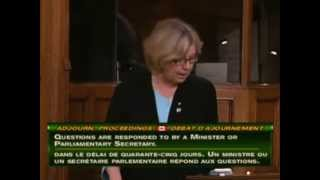 Elizabeth May: Adjournment Proceedings -- Canada-China FIPA